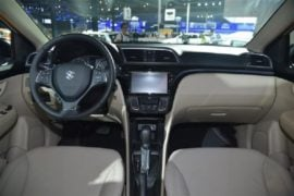 New Maruti Ciaz Facelift interior