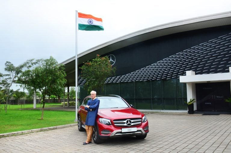 Mercedes GLC Celebration Edition Launched to Commemorate 70 Years of Indian Independence