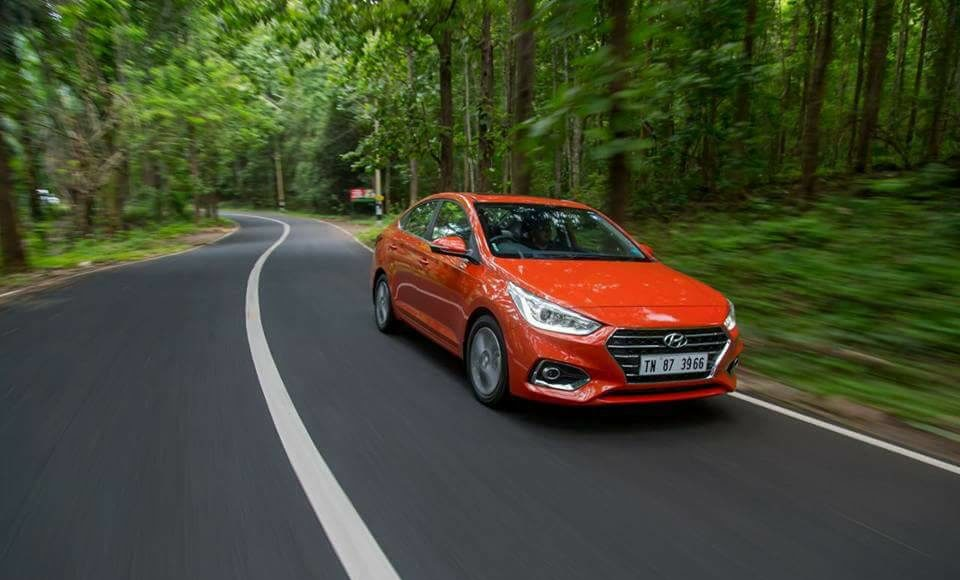 new 2017 hyundai verna test drive review images exterior front angle action
