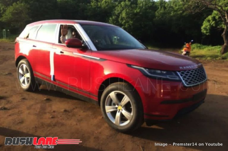 Range Rover Velar India Launch Soon; Spied