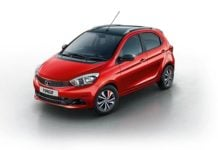 tata tiago wizz limited edition model images red with black roof
