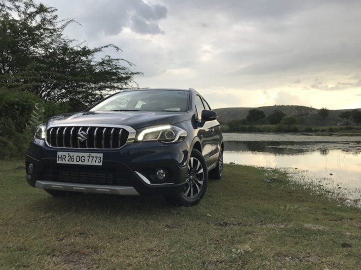 new Maruti s cross 2017 facelift