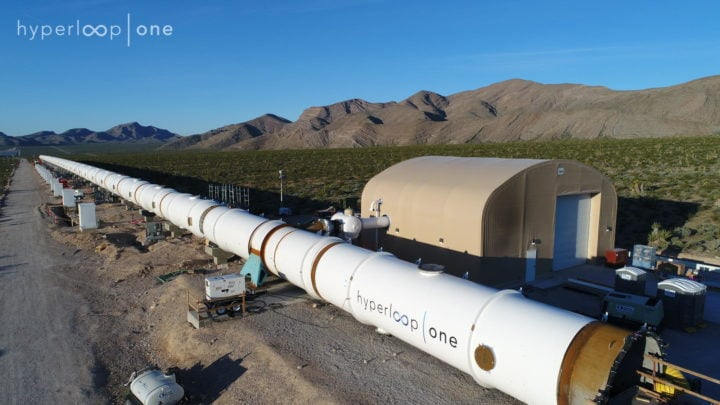 Hyperloop One Tubes in production