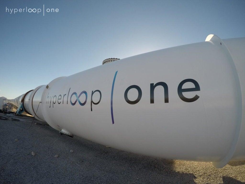 Hyperloop One Vacuum tubes