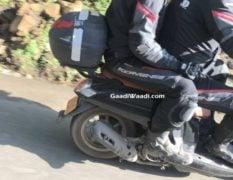 Honda Scoopy India Spy Pictures