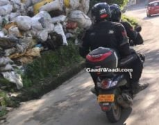 Honda Scoopy India Spy Pictures