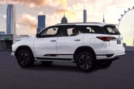 New Toyota Fortuner TRD Sportivo India Images