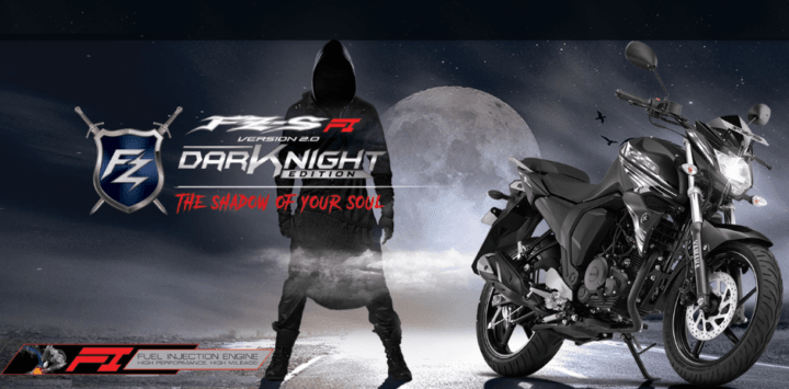 2017 Yamaha FZ-S FI Dark Night Images
