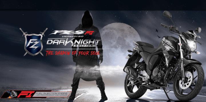 2017 Yamaha FZ-S FI Dark Night Images