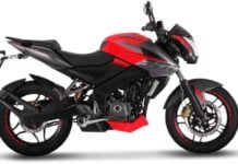Bajaj Pulsar NS200 FI (fuel injection model)