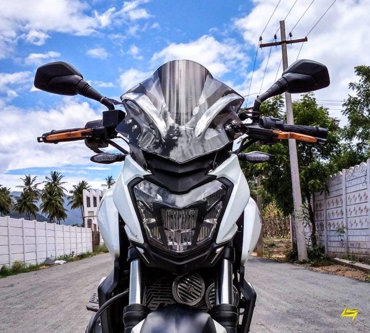 best modified bajaj dominar 400 images