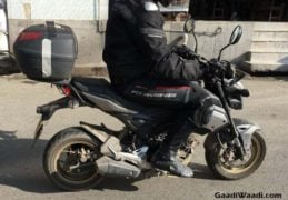 honda grom india spy images