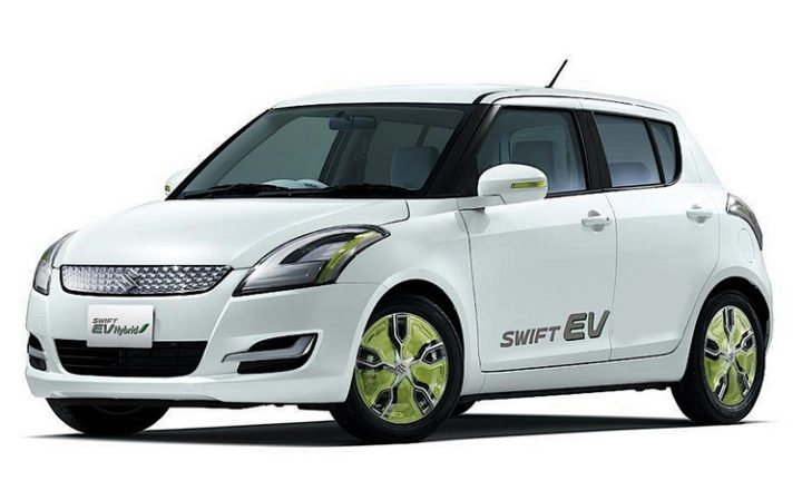 maruti suzuki electric car images swift hybrid
