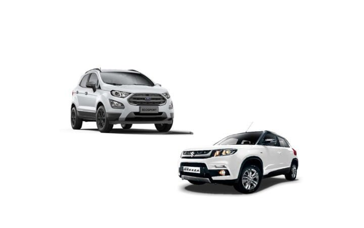 new 2017 ford ecosport vs maruti vitara brezza comparison