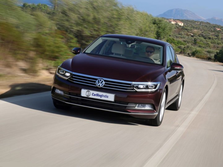 new 2017 volkswagen passat india images front angle