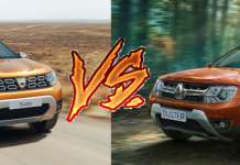 new 2018 renault duster vs old model comparison images front angle action