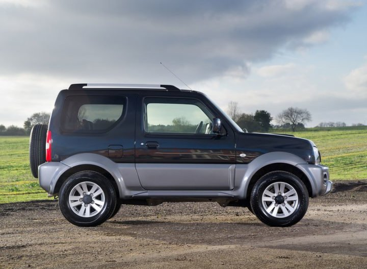 new maruti gypsy 2018 images side profile