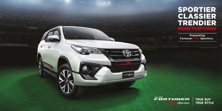 Toyota Fortuner TRD Sportivo Launched at Rs 31,01,500