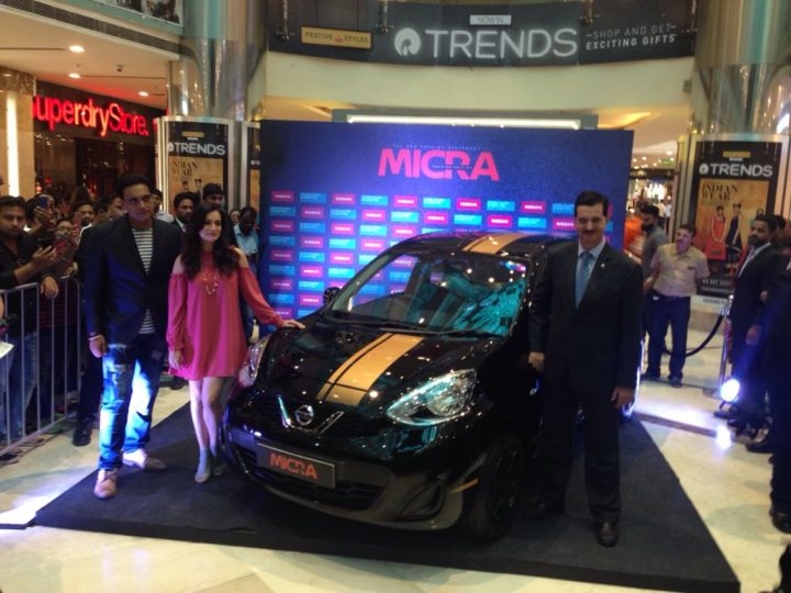nissan micra fashion edition images
