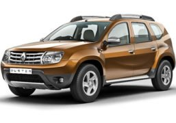 old renault duster front image