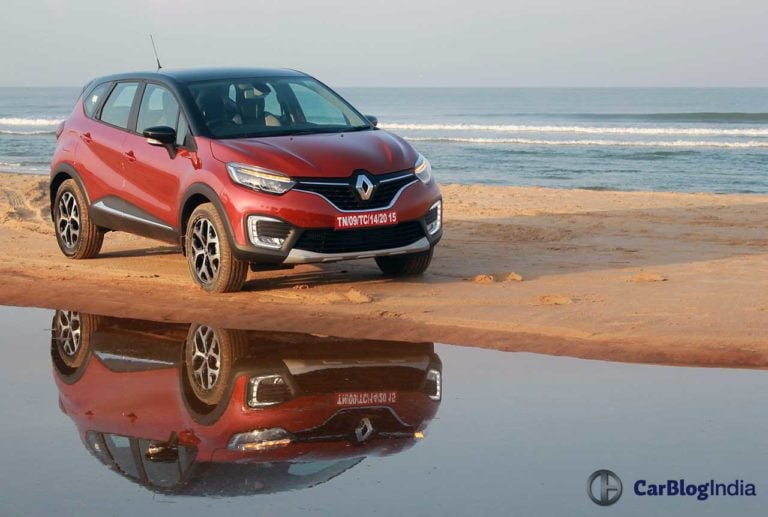 Renault Captur gets cheaper by up to Rs 81,000