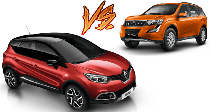 renault captur vs mahindra xuv500 price specs mileage comparison. Black Bedroom Furniture Sets. Home Design Ideas