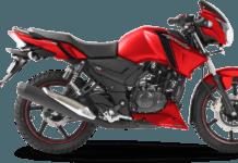 TVS Apache RTR 160 Matte Red Edition