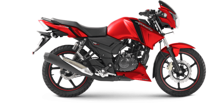 TVS Apache RTR 160 Matte Red Edition