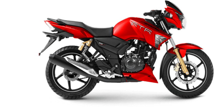 TVS Apache RTR 180 Matte Red Edition