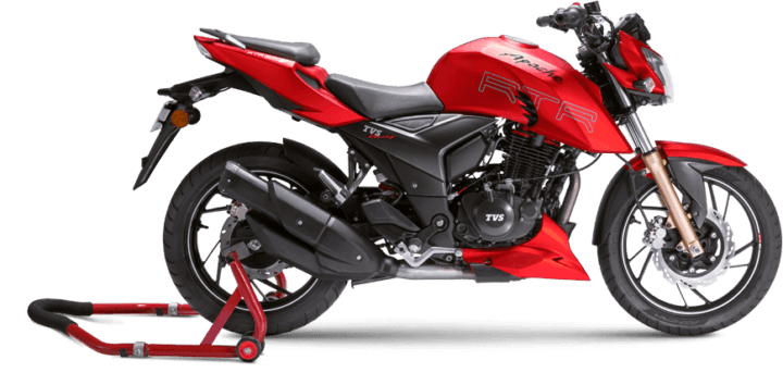 TVS Apache RTR 200 4V Matte Red Edition