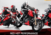 tvs apache rtr red edition images