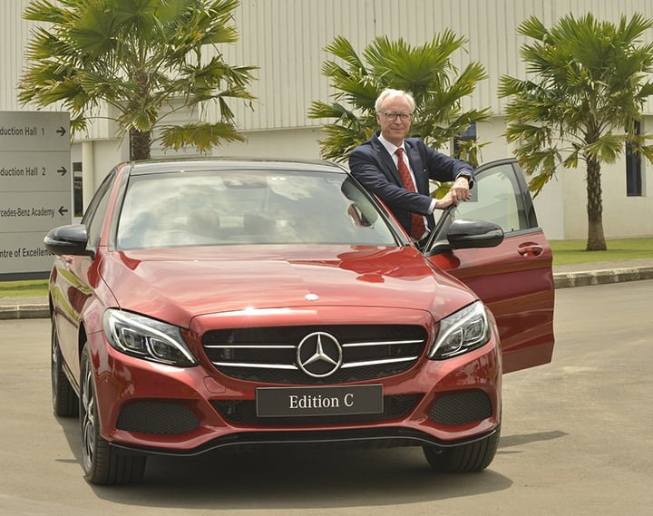 2017 Mercedes C Class Edition C Launched in India