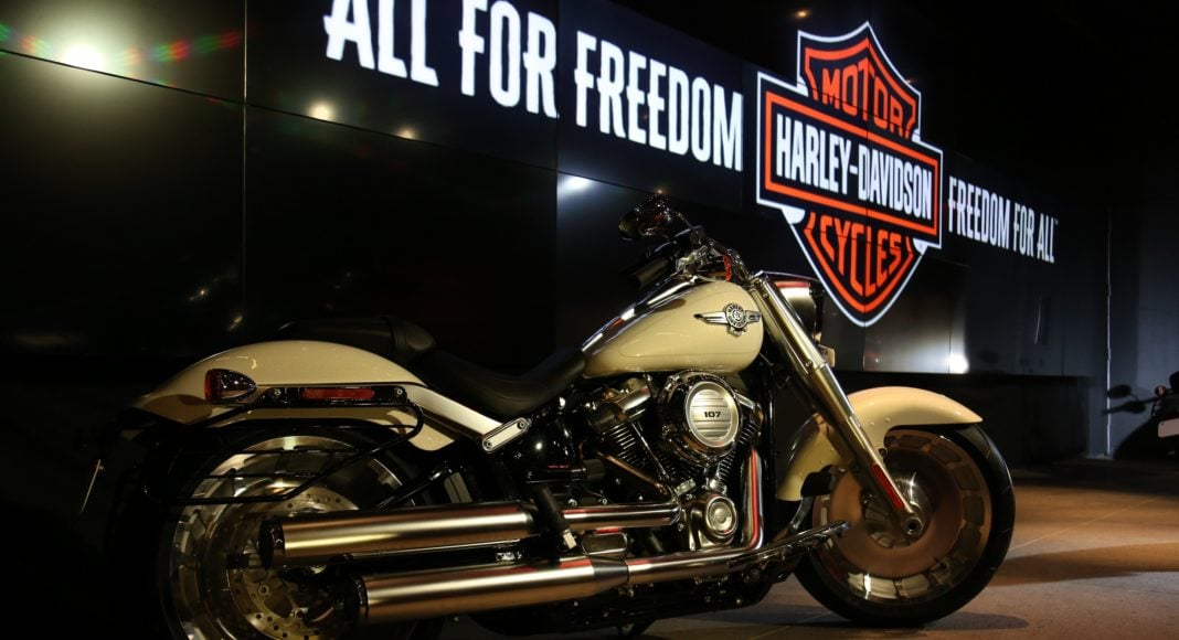 2018 Harley Davidson Softail Fat Boy