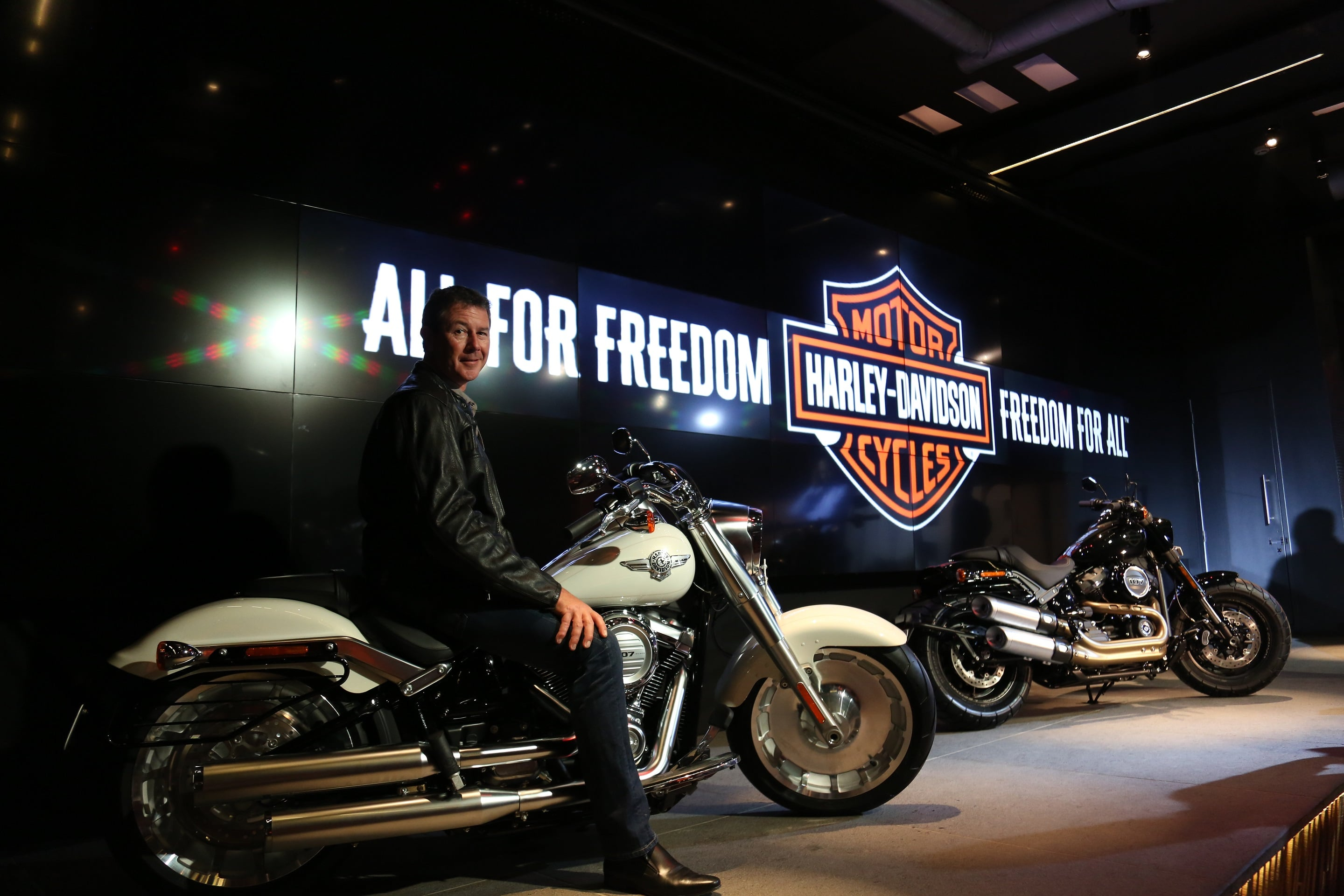 2018 harley davidson softail india prices specifications features pics. Black Bedroom Furniture Sets. Home Design Ideas