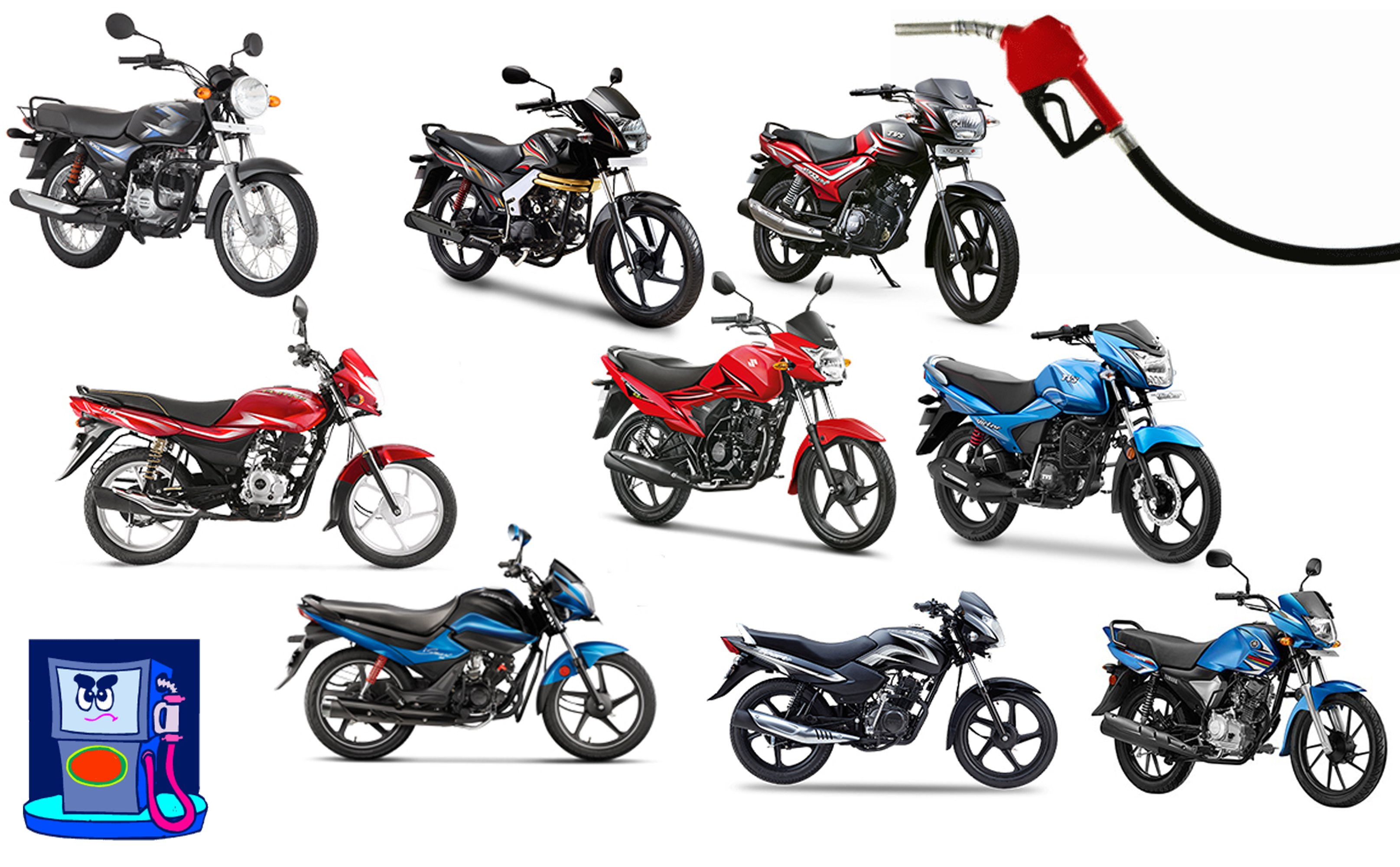 60 kmpl to 80 kmpl mileage bikes in india with price specifications