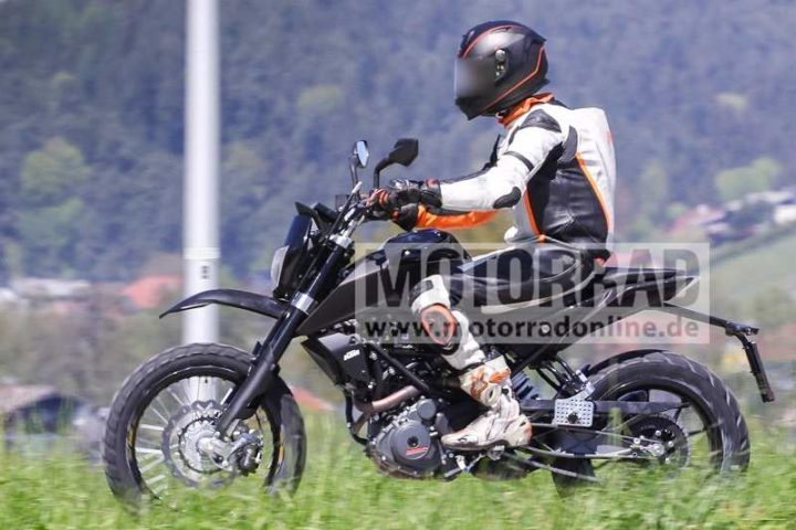 KTM 390 Scrambler India Images