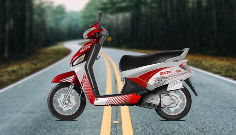 Mahindra Gusto RS Limited Edition Launched
