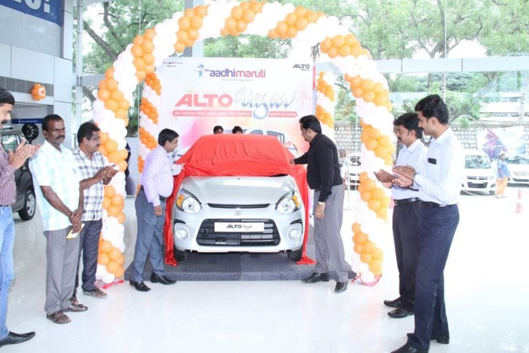 Maruti Alto 800 Utsav Limited Edition Launched