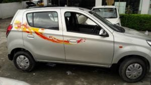 Maruti Alto 800 Utsav limited edition photo side profile