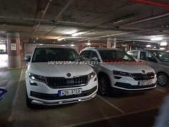 Skoda Karoq India Spy Images Front