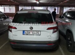 Skoda Karoq India Spy Images Rear
