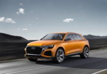 audi q8 india launch images action