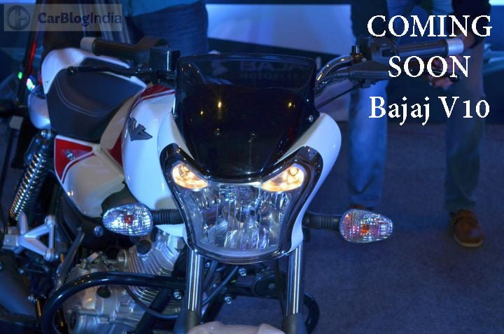 bajaj v10 100cc motorcycle image front headlight