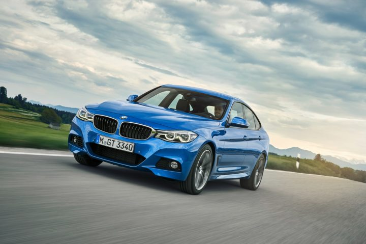 bmw 330i gran turismo m sport edition india images estoril blue colour