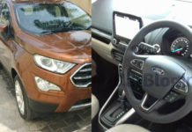 ford ecosport facelift india images