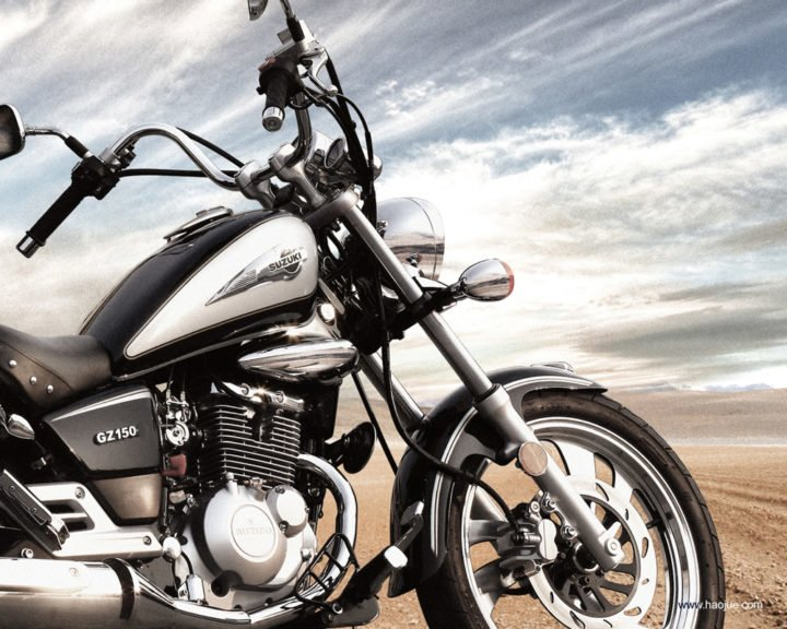 suzuki gz150 cruiser motorcycle image wallpaper