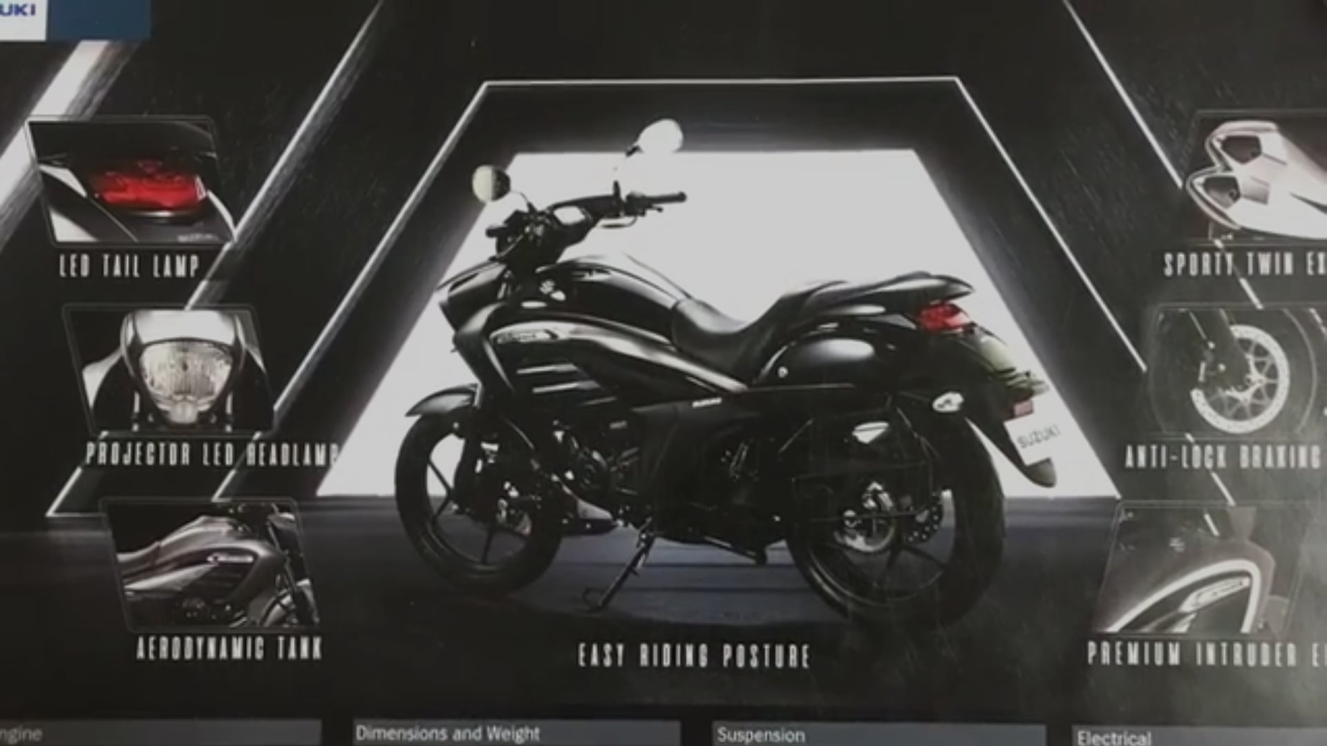 Specifications For  Suzuki  Intruder