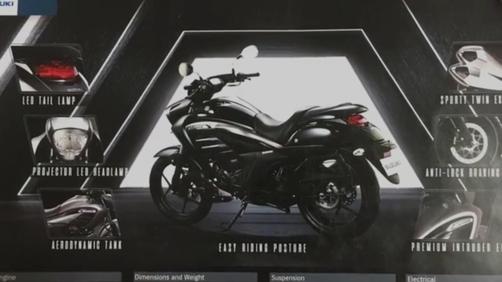 Suzuki Intruder 150 Launch Date, Price in India