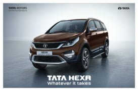tata hexa downtown urban edition images