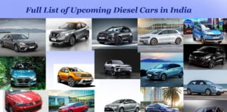 upcoming diesel cars in india 2017